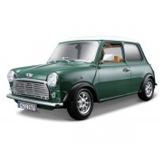 Mini Cooper 1969 (Green with White Rood)