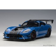 Dodge Viper ACR 2017 (Competition Blue with Black Stripes)