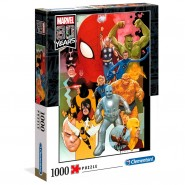 Puzzle Marvel 80 Years 1000 pieces High Quality. 69x50cm