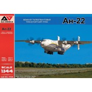 Antonov An-22 Heavy Turboprop Transport Aircraft (2 marking variants)