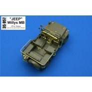 Willys Jeep (designed to be used with Italeri, Revell and Tamiya kits)