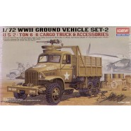WWII US 6x6 Cargo Truck and Accessories