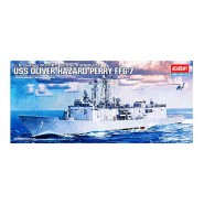 USS Oliver Hazard Perry FFG-7 U.S.Navy Guided Missile Frigate