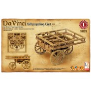 Da Vinci Self-Propelling Cart (No paint or glue required)