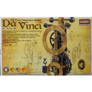 Da Vinci Clock (No paint or glue required)