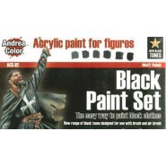 Black Paint Set