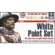 White Paint Set