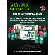 Green Paint Set