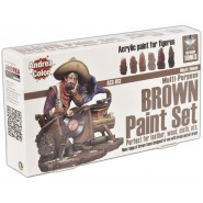 Brown Paint Set
