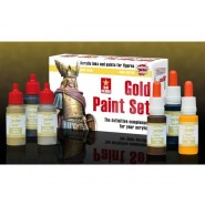 GOLD PAINT SET