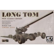 M59 Long Tom 155mm Cannon and Limber