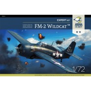 General-Motors FM-2 Wildcat Expert Set including canopy frame paint mask and etched parts