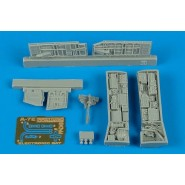 Vought A-7E Corsair II electronic bay (designed to be used Hasegawa kits)