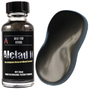 Steel (30ml) Metal Lacquer Paint