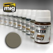 GREY FOR YELLOW SAND High quality ready to use filter. 30 mL