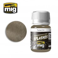 MEDIUM DENSITY MUD SPLASHES - TURNED DIRT (35ml)