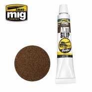 ANTI-SLIP PASTE - BROWN COLOR FOR 1/35 (Tube 20mL.)