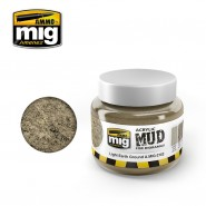 ACRYLIC MUD FOR DIORAMAS - LIGHT EARTH GROUND (250ml)