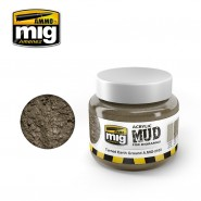 ACRYLIC MUD FOR DIORAMAS - TURNED EARTH GROUND (250ml)