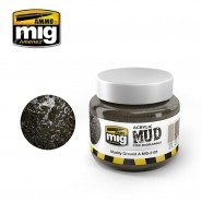 ACRYLIC MUD FOR DIORAMAS - MUDDY GROUND (250ml)