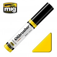AMMO YELLOW - Oil paint with fine brush applicator.