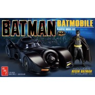 1989 Batmobile With Resin Batman Figure