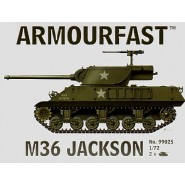 M36 Jackson: Pack includes 2 snap together tank kits