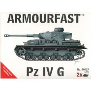 Pz.Kpfw.IV Ausf.G: Pack includes 2 snap together tank kits.
