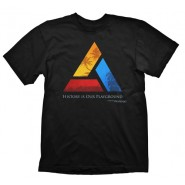 ASSASSINS CREED 4 ENTERTAINMENT T-SHIRT BLACK (Size: M)