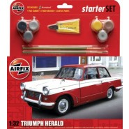 Triumph Herald Starter Set includes Acrylic paints, brushes and poly cement
