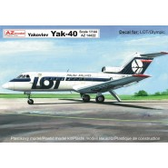 Yakovlev Yak-40 'LOT, Olympic Airways'