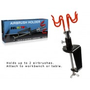 Airbrush Holder for 2 Airbrushes
