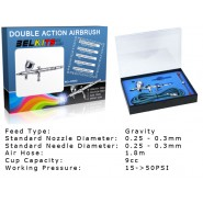 Gravity Feed Airbrush Double Action