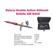 DELUXE DOUBLE ACTION AIRBRUSH AIR RACE