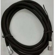 Air Hose Black 3mt with adaptor 1.8