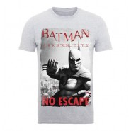 Batman Arkham City T-Shirt Black No Escape (Size: S)