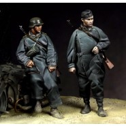 German Motorcyclists (only figures)