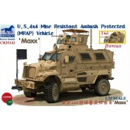 U.S. 4x4 Mine Resistant Ambush Protected (MRAP) vehicle Maxx
