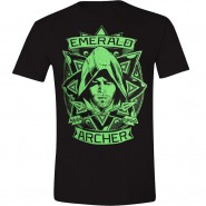 Arrow - Emerald Archer T-Shirt - Black (Size: L)