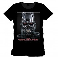 The Terminator - Poster T-shirt - Black (SIZE: S)