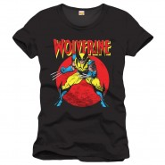 Marvel Comics T-Shirt Wolverine Cover - Black (Size: S)