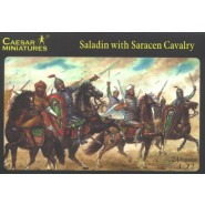 Saladin with Saracens Cavalry