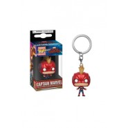 Captain Marvel Pocket POP! Vinyl Keychain Captain Marvel (with Helmet) 4 cm