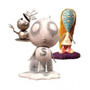 Tim Burton PVC Figure Set #1 Stain Boy 10 cm (3 figures)