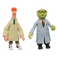 The Muppets Select Action Figures 13 cm Series 2 (Bunsen Honeydew & Beaker)
