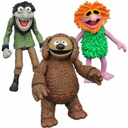 The Muppets Select Action Figures 13 cm Series 3  - 1 (Rowlf & Crazy Harry)