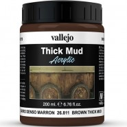 THICK MUD ACRYLIC PASTE  200ml