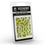 Vallejo Scenery Wild Tuft - Light Green