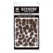 Vallejo Scenery Wild Tuft - Brown