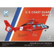 HH-65A/B U.S.COAST GUARD HELICOPTER PLASTIC+PE+RESIN